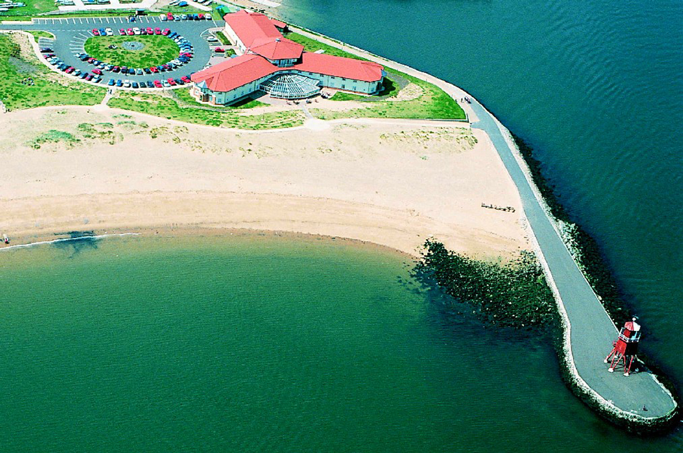 Little Haven Hotel arial shot