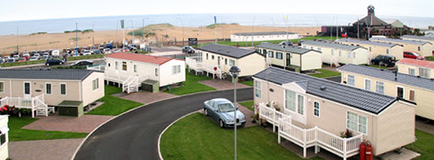 Sandhaven Holiday Park exterior