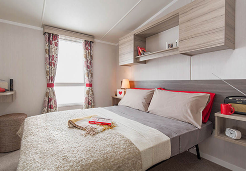 Sandhaven Holiday Park master bedroom